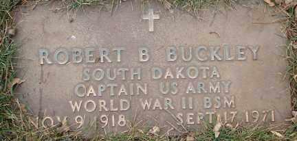 BUCKLEY, ROBERT B. (WWII) - Minnehaha County, South Dakota | ROBERT B. (WWII) BUCKLEY - South Dakota Gravestone Photos