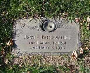 BUCKMILLER, JESSIE - Minnehaha County, South Dakota   JESSIE BUCKMILLER - South Dakota Gravestone Photos