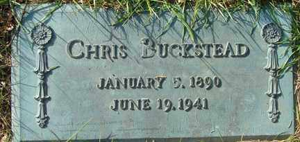 BUCKSTEAD, CHRIS - Minnehaha County, South Dakota | CHRIS BUCKSTEAD - South Dakota Gravestone Photos