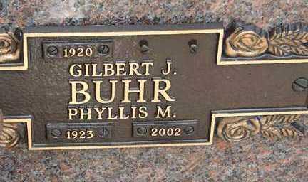 BUHR, PHYLLIS M. - Minnehaha County, South Dakota   PHYLLIS M. BUHR - South Dakota Gravestone Photos