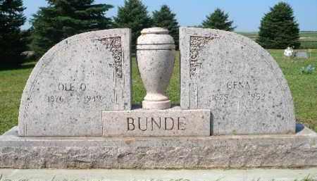 BUNDE, OLE O. - Minnehaha County, South Dakota | OLE O. BUNDE - South Dakota Gravestone Photos