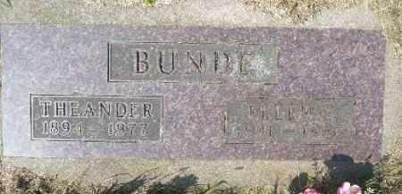 BUNDE, ELLEN - Minnehaha County, South Dakota | ELLEN BUNDE - South Dakota Gravestone Photos