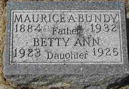 BUNDY, BETTY ANN - Minnehaha County, South Dakota | BETTY ANN BUNDY - South Dakota Gravestone Photos