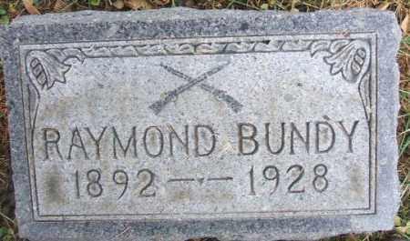 BUNDY, RAYMOND - Minnehaha County, South Dakota | RAYMOND BUNDY - South Dakota Gravestone Photos