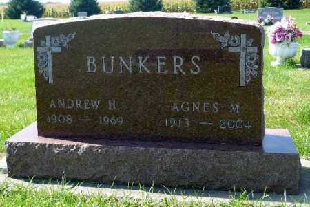 BUNKERS, ANDREW HENRY - Minnehaha County, South Dakota | ANDREW HENRY BUNKERS - South Dakota Gravestone Photos