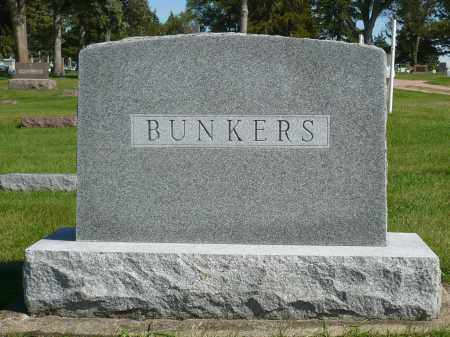 BUNKERS, FAMILY MARKER - Minnehaha County, South Dakota | FAMILY MARKER BUNKERS - South Dakota Gravestone Photos