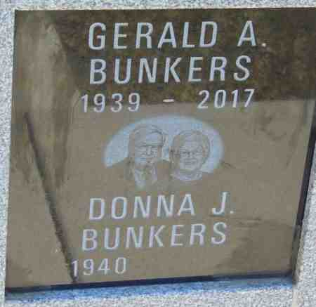 BUNKERS, GERALD A. - Minnehaha County, South Dakota | GERALD A. BUNKERS - South Dakota Gravestone Photos
