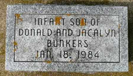 BUNKERS, INFANT SON - Minnehaha County, South Dakota | INFANT SON BUNKERS - South Dakota Gravestone Photos