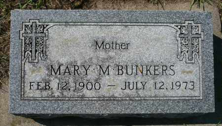 MOES BUNKERS, MARY M. - Minnehaha County, South Dakota | MARY M. MOES BUNKERS - South Dakota Gravestone Photos