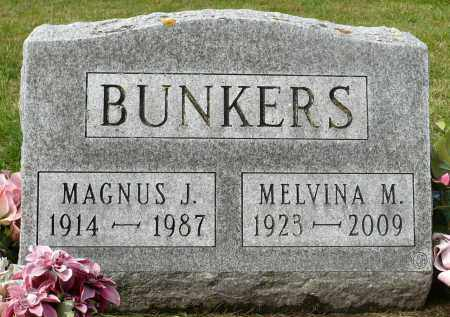 DUBBELDE BUNKERS, MELVINA M. - Minnehaha County, South Dakota | MELVINA M. DUBBELDE BUNKERS - South Dakota Gravestone Photos