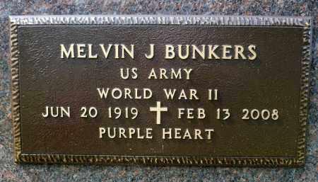 BUNKERS, MELVIN JOHN (WWII) - Minnehaha County, South Dakota | MELVIN JOHN (WWII) BUNKERS - South Dakota Gravestone Photos