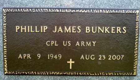 BUNKERS, PHILLIP JAMES (MILITARY) - Minnehaha County, South Dakota | PHILLIP JAMES (MILITARY) BUNKERS - South Dakota Gravestone Photos