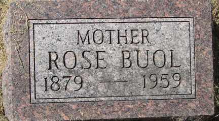 BUOL, ROSE - Minnehaha County, South Dakota   ROSE BUOL - South Dakota Gravestone Photos