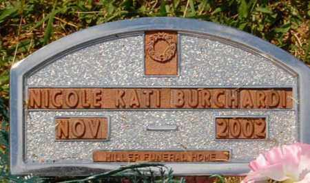 BURCHARDI, NICHOLE KATI - Minnehaha County, South Dakota | NICHOLE KATI BURCHARDI - South Dakota Gravestone Photos