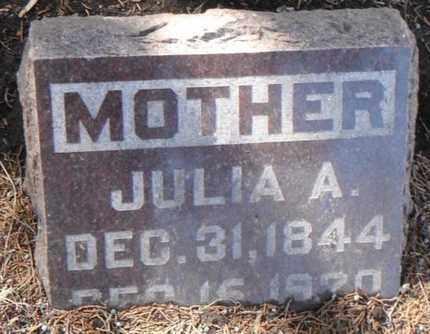 BURDETT, JULIA ANN - Minnehaha County, South Dakota   JULIA ANN BURDETT - South Dakota Gravestone Photos