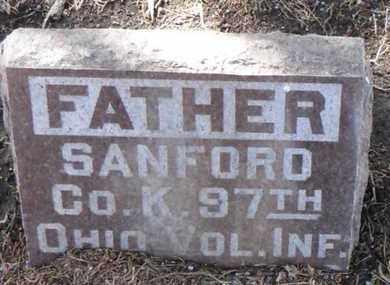 BURDETT, SANFORD - Minnehaha County, South Dakota | SANFORD BURDETT - South Dakota Gravestone Photos