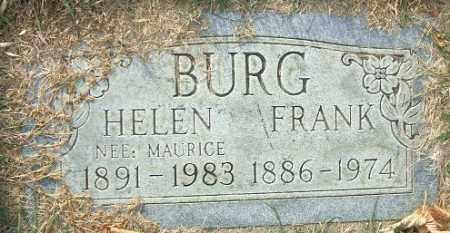 BURG, FRANK - Minnehaha County, South Dakota | FRANK BURG - South Dakota Gravestone Photos