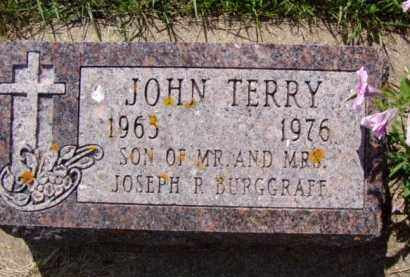 BURGGRAFF, JOHN TERRY - Minnehaha County, South Dakota | JOHN TERRY BURGGRAFF - South Dakota Gravestone Photos