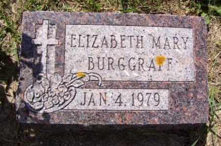 BURGRAFF, ELIZABETH MARY - Minnehaha County, South Dakota | ELIZABETH MARY BURGRAFF - South Dakota Gravestone Photos