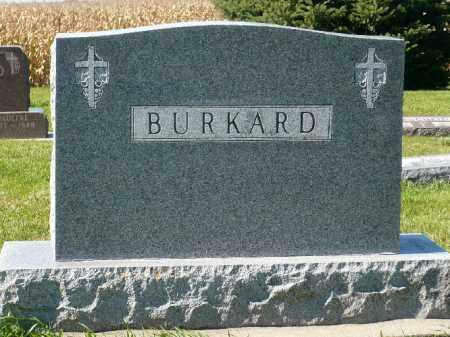 BURKARD, FAMILY MARKER - Minnehaha County, South Dakota   FAMILY MARKER BURKARD - South Dakota Gravestone Photos
