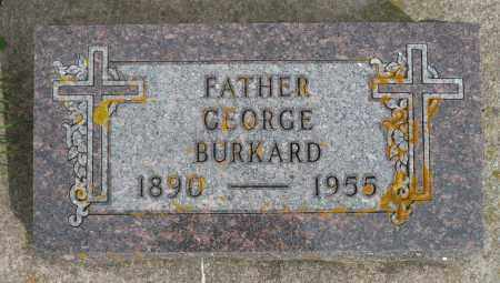 BURKARD, GEORGE - Minnehaha County, South Dakota | GEORGE BURKARD - South Dakota Gravestone Photos