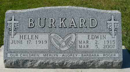 BURKARD, EDWIN - Minnehaha County, South Dakota | EDWIN BURKARD - South Dakota Gravestone Photos