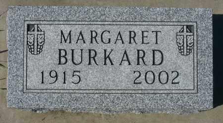 BURKARD, MARGARET - Minnehaha County, South Dakota   MARGARET BURKARD - South Dakota Gravestone Photos