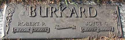 BURKARD, ROBERT P. - Minnehaha County, South Dakota   ROBERT P. BURKARD - South Dakota Gravestone Photos