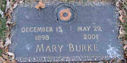 BURKE, MARY - Minnehaha County, South Dakota | MARY BURKE - South Dakota Gravestone Photos
