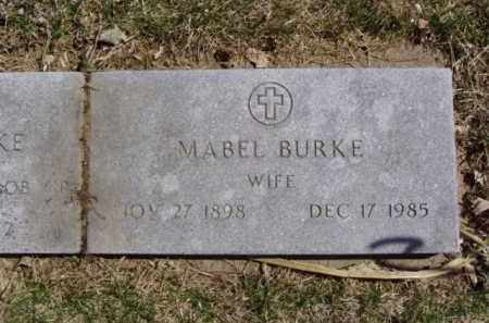 BURKE, MABEL - Minnehaha County, South Dakota | MABEL BURKE - South Dakota Gravestone Photos