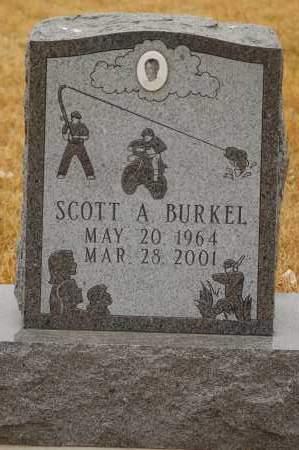 BURKEL, SCOTT A. - Minnehaha County, South Dakota   SCOTT A. BURKEL - South Dakota Gravestone Photos