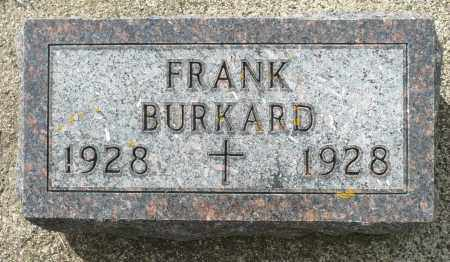BURKARD, FRANK - Minnehaha County, South Dakota   FRANK BURKARD - South Dakota Gravestone Photos