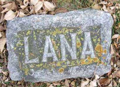 BURKHOLDER, LANA - Minnehaha County, South Dakota | LANA BURKHOLDER - South Dakota Gravestone Photos