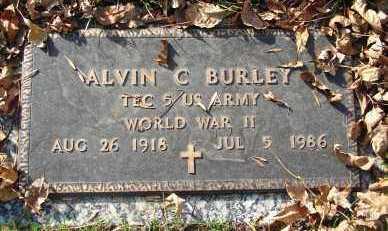 BURLEY, ALVIN C. - Minnehaha County, South Dakota   ALVIN C. BURLEY - South Dakota Gravestone Photos