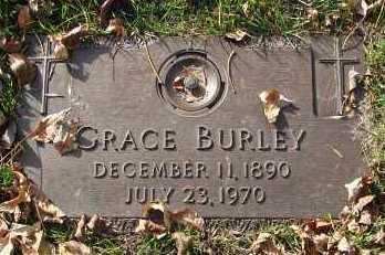 BURLEY, GRACE - Minnehaha County, South Dakota | GRACE BURLEY - South Dakota Gravestone Photos