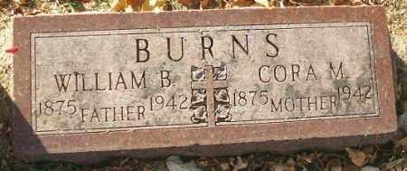 BURNS, CORA M. - Minnehaha County, South Dakota | CORA M. BURNS - South Dakota Gravestone Photos