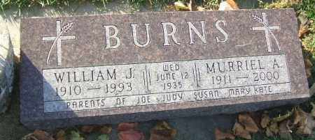 BURNS, MURRIEL A. - Minnehaha County, South Dakota | MURRIEL A. BURNS - South Dakota Gravestone Photos