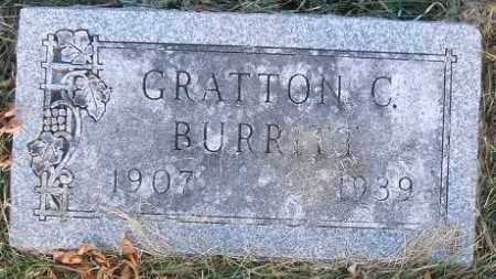 BURRITT, GRATTON C. - Minnehaha County, South Dakota | GRATTON C. BURRITT - South Dakota Gravestone Photos
