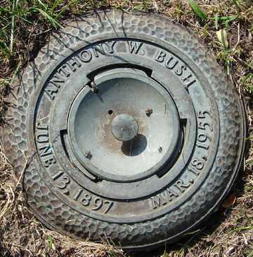 BUSH, ANTHONY W. - Minnehaha County, South Dakota | ANTHONY W. BUSH - South Dakota Gravestone Photos