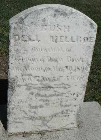 BUSH, DELL MELLROE - Minnehaha County, South Dakota   DELL MELLROE BUSH - South Dakota Gravestone Photos