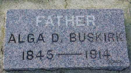 BUSKIRK, ALGA D. - Minnehaha County, South Dakota | ALGA D. BUSKIRK - South Dakota Gravestone Photos