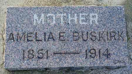 BUSKIRK, AMELIA E. - Minnehaha County, South Dakota   AMELIA E. BUSKIRK - South Dakota Gravestone Photos