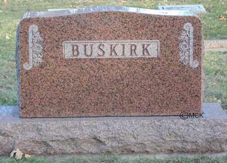 BUSKIRK, HEADSTONE - Minnehaha County, South Dakota   HEADSTONE BUSKIRK - South Dakota Gravestone Photos
