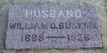 BUSKIRK, WILLIAM O. - Minnehaha County, South Dakota | WILLIAM O. BUSKIRK - South Dakota Gravestone Photos