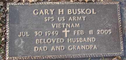 BUSKOL, GARY H. (VIETNAM) - Minnehaha County, South Dakota | GARY H. (VIETNAM) BUSKOL - South Dakota Gravestone Photos
