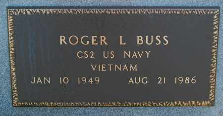 BUSS, ROGER L. - Minnehaha County, South Dakota | ROGER L. BUSS - South Dakota Gravestone Photos