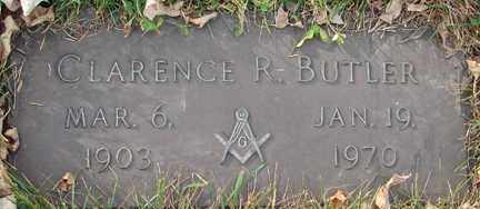 BUTLER, CLARENCE R. - Minnehaha County, South Dakota | CLARENCE R. BUTLER - South Dakota Gravestone Photos