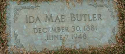 BUTLER, IDA MAE - Minnehaha County, South Dakota   IDA MAE BUTLER - South Dakota Gravestone Photos