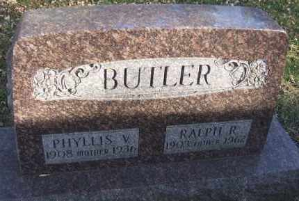 BUTLER, RALPH R. - Minnehaha County, South Dakota | RALPH R. BUTLER - South Dakota Gravestone Photos