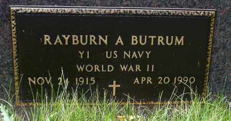 BUTRUM, RAYBURN A.  (WWII) - Minnehaha County, South Dakota | RAYBURN A.  (WWII) BUTRUM - South Dakota Gravestone Photos